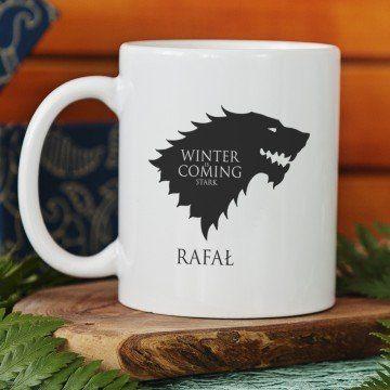 Winter is Coming Stark - Kubek