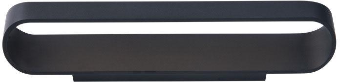 Kinkiet ZAFIRA W0278 Maxlight nowoczesna oprawa w kolorze czarnym