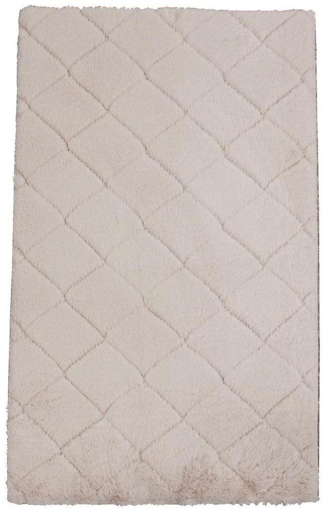 Dywan shaggy Modena jasnoróżowy 60 x 100 cm