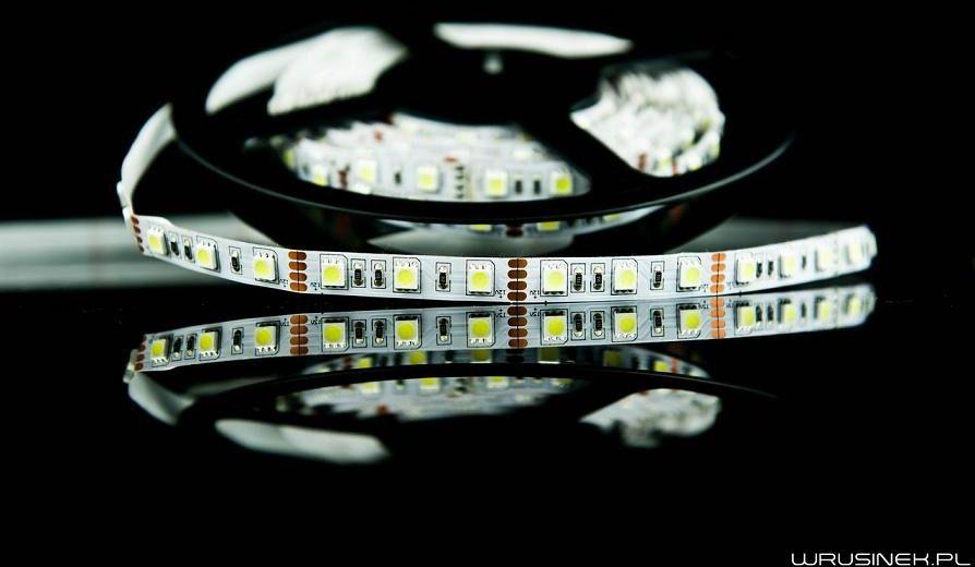 Taśma led 5m smd 5050 300 diod/5m - żółty - pasek led - listwa led