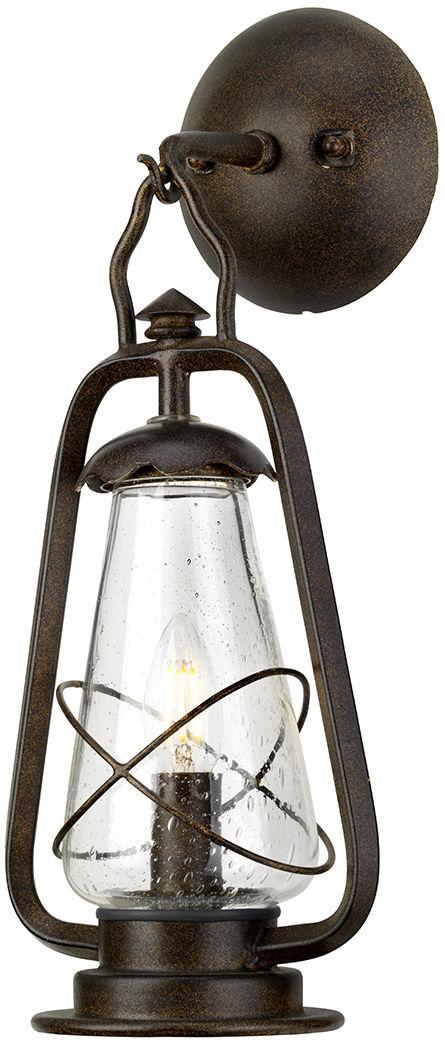 Kinkiet zewnętrzny Miners WALL Elstead Lighting dekoracyjna oprawa w kolorze antycznego brązu