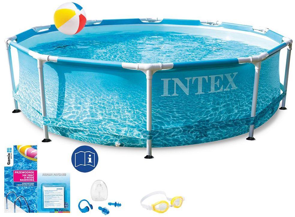 Basen Intex 305x76 Ogrodowy Stelażowy 28206 7w1