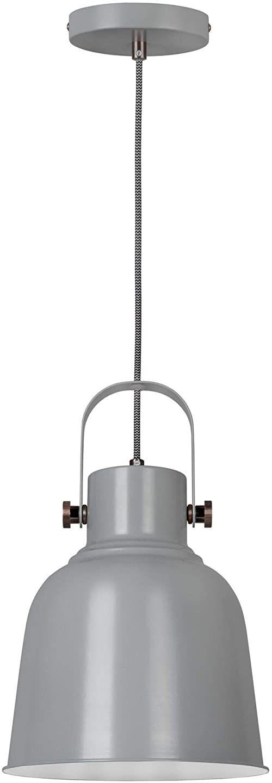 Activejet Lampa Wiszaca Szara Aje-Loly Grey 1Xe27 ,Szary