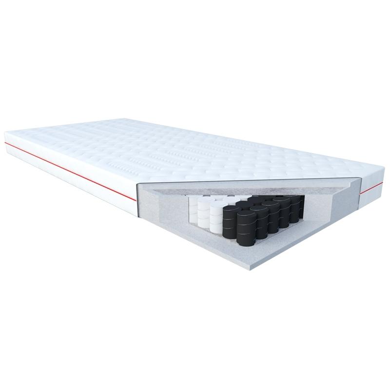Materac WENUS JANPOL kieszeniowy : Rozmiar - 200x200, Pokrowce Janpol - Smart