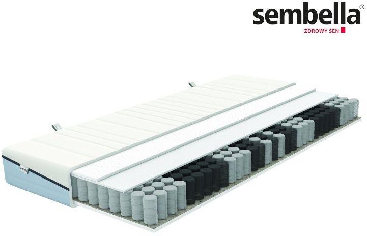 SEMBELLA SMART ELASTO  materac kieszeniowy, sprężynowy, Rozmiar - 80x200 NAJLEPSZA CENA, DARMOWA DOSTAWA