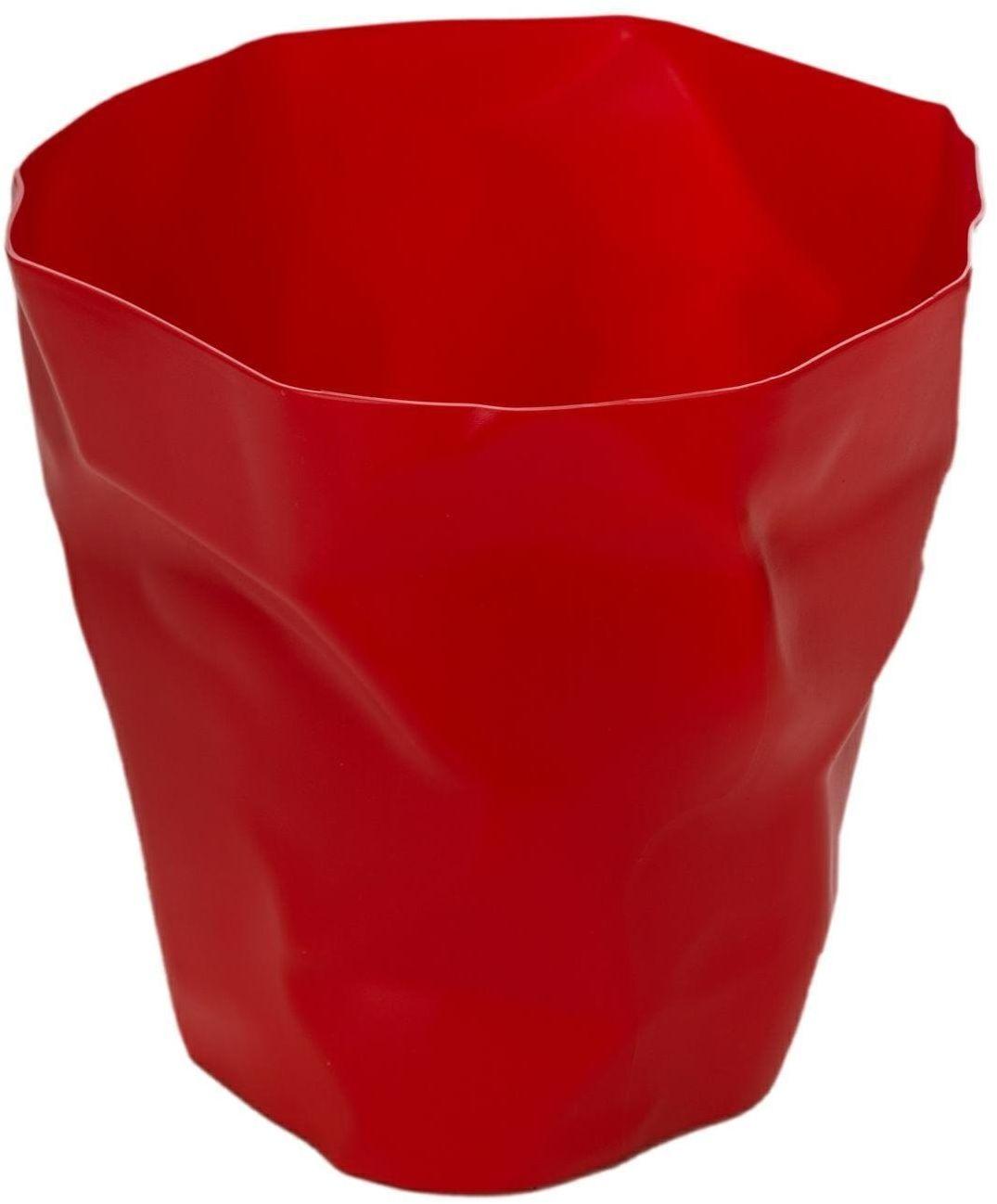 Kosz na śmieci Papier inspirowany BinBin czerwony
