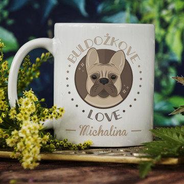 Buldożkove love - Personalizowany Kubek