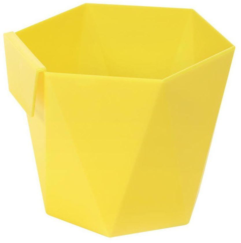 Osłonka plastikowa 9.5 cm żółta HECA