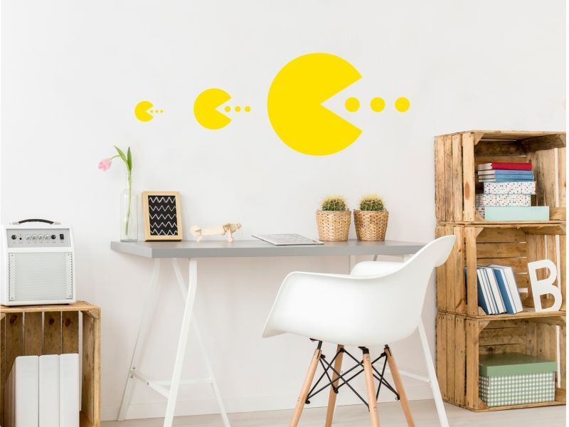 naklejka Pacman naklejka na ścianę