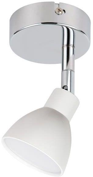ROY LAMPA KINKIET 1X5W LED COB GŁÓWKA OKRĄGŁA 1E Z PRZEGUBEM KD SYSTEM BIAŁY