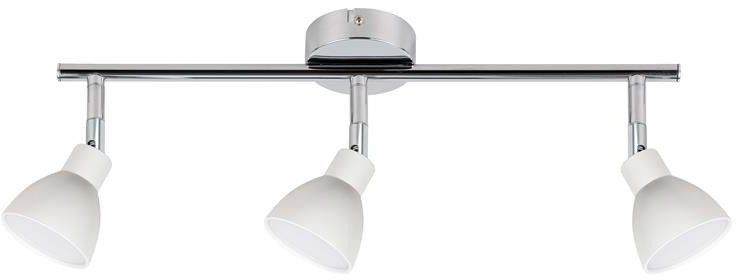ROY LAMPA SUFITOWA LISTWA 3X5W LED COB GŁÓWKA OKRĄGŁA 1E Z PRZEGUBEM KD SYSTEM BIAŁY