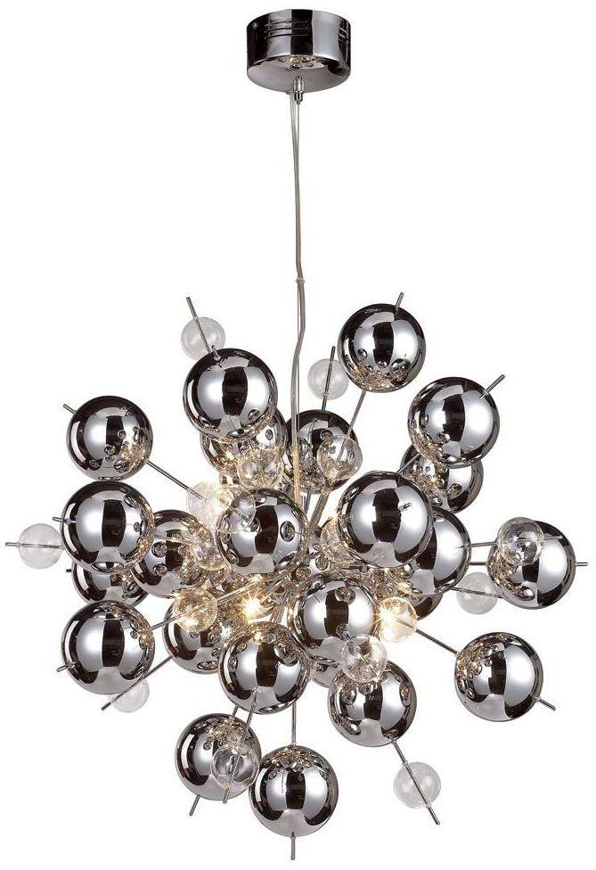 Lampa wisząca Glasball chrom G9 Nave