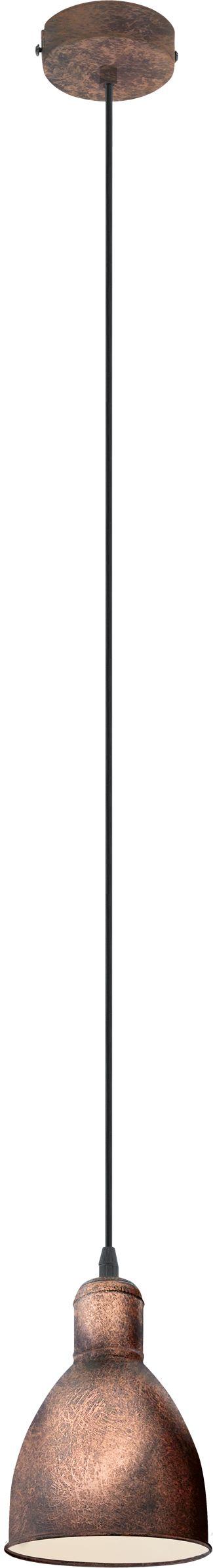 Eglo lampa wisząca Priddy 1 49492