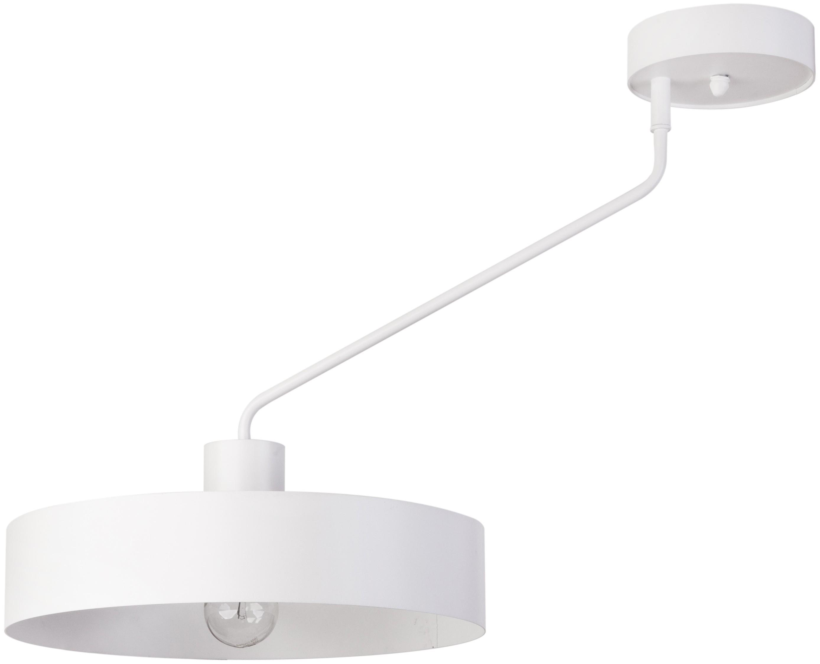 Lampa sufitowa nowoczesna Jumbo 1 biała metalowa okrągła 31530 - Sigma Do -17% rabatu w koszyku i darmowa dostawa od 299zł !