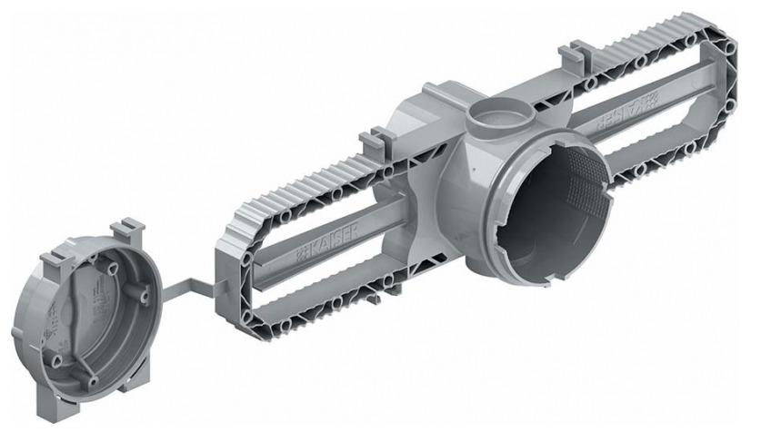 Puszka Prefix 60 do ścian betonowych Ø60 mm