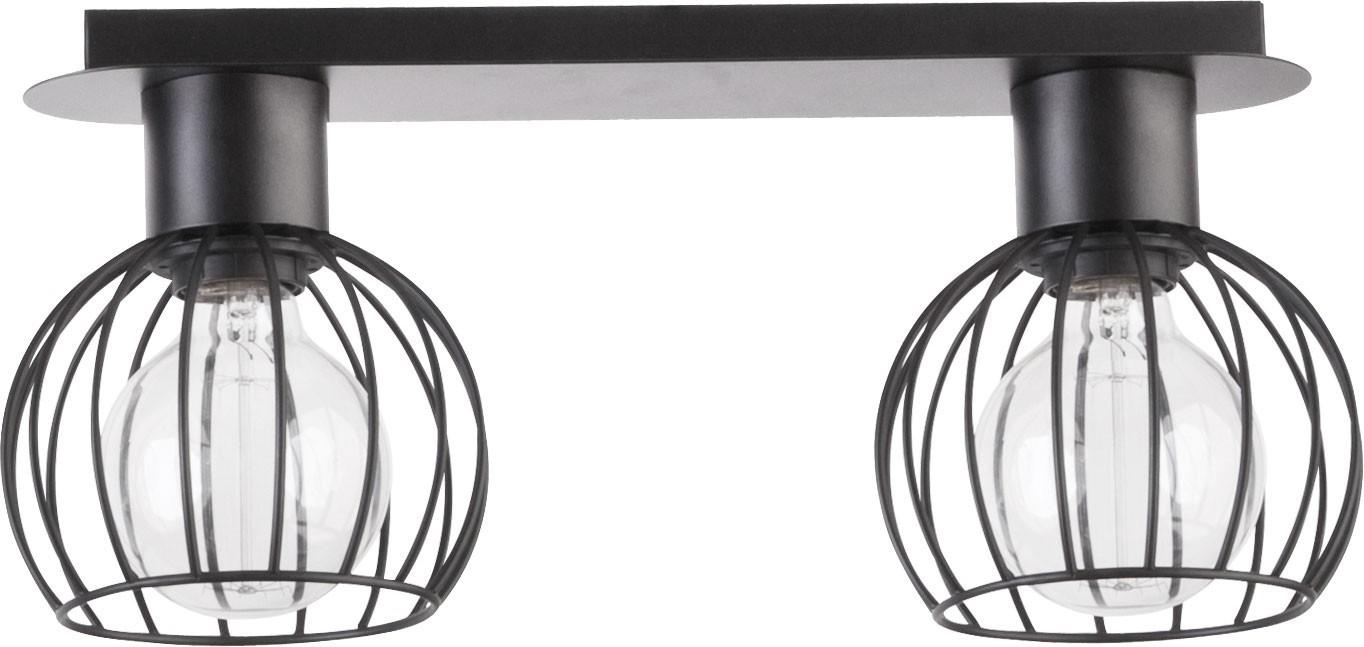 Lampa sufitowa Luto koło 2 czarna mat 31158 - Sigma Do -17% rabatu w koszyku i darmowa dostawa od 299zł !