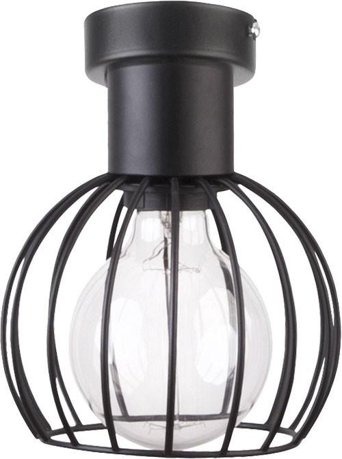 Lampa sufitowa Luto koło 1 czarna mat 31157 - Sigma Do -17% rabatu w koszyku i darmowa dostawa od 299zł !