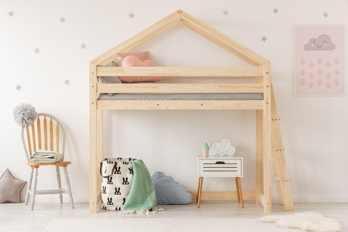 Łóżko piętrowe MILA DMPBA 80x140 sosna drewniane  KUP TERAZ - OTRZYMAJ RABAT