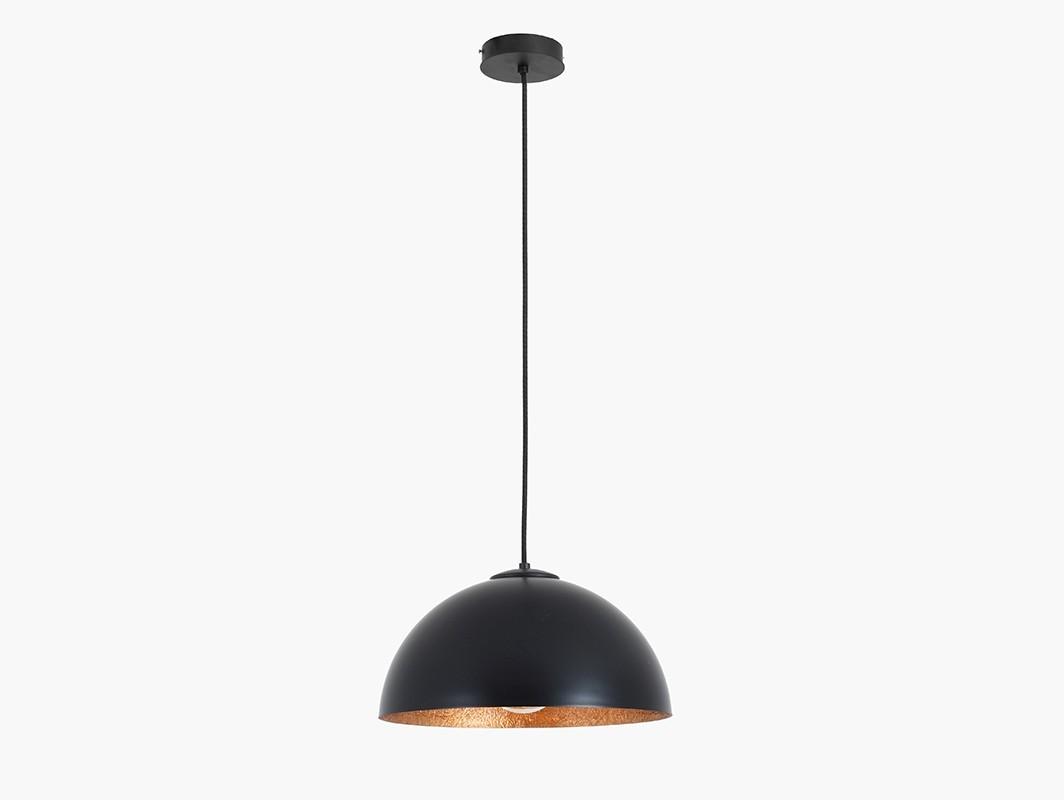 Lampa wisząca LORD 35 - miedziano-czarny - Customform
