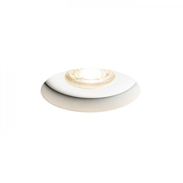 Lampa wpuszczana BRAN BEZ RAMKI biała R13605 - Redlux