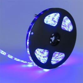 Taśma LED 300SMD2835 niebieska wodoodporna IP65 - 5m