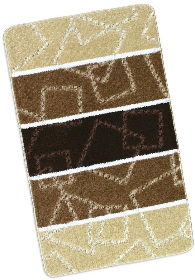 Bellatex Dywanik łazienkowy Avangard brązowy, 60 x 100 cm