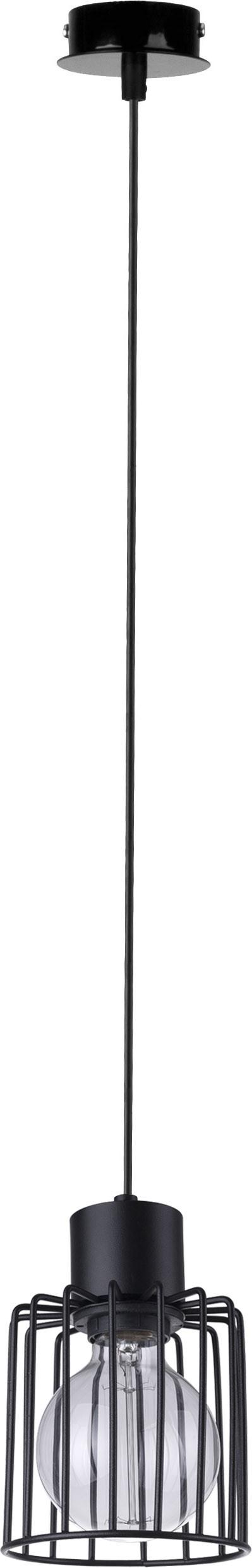 Lampa wisząca Luto kwadrat 1 czarna 31132 - Sigma Do -17% rabatu w koszyku i darmowa dostawa od 299zł !