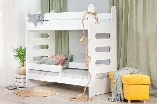 Łóżko 180x80cm High Crane piętrowe kolor biały