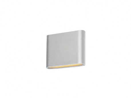Kinkiet zewnętrzny Cremona S AZ2179 Azzardo biała oprawa ścienna w nowoczesnym stylu