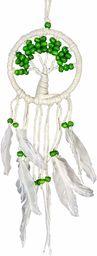 Asiastyle DC-TREEOL01-012WH-GR łapacz snów, biały, zielony, 12 cm