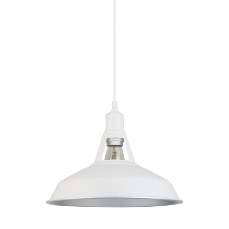 Lampa wisząca Freya MDM-2315/1 M W+SL Italux biała