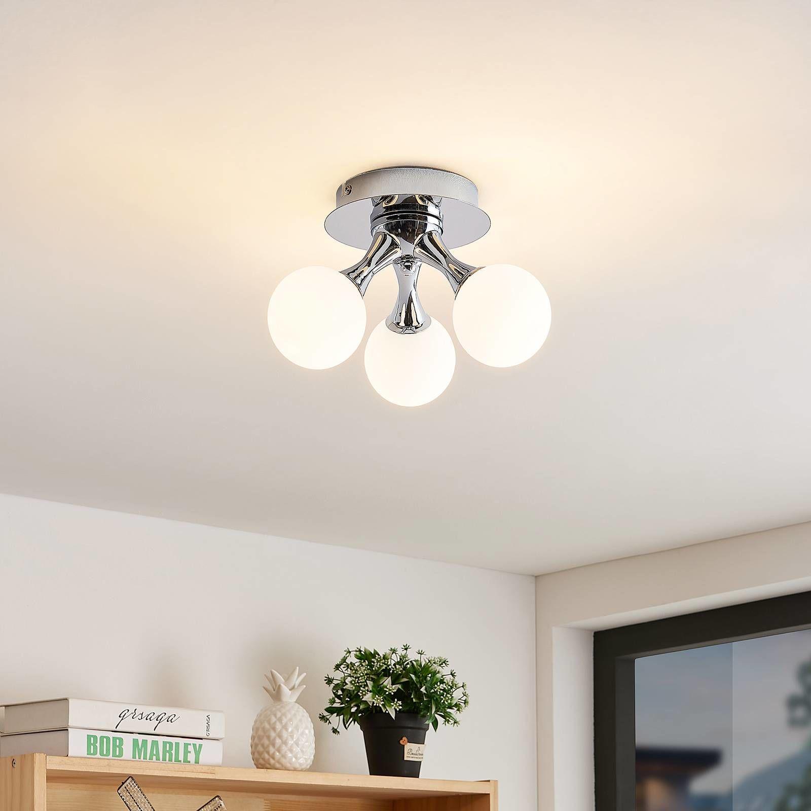 Lindby Chrissy lampa sufitowa, 3-punktowa
