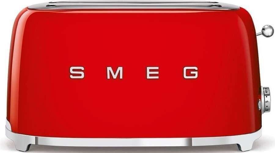 SMEG_Toster TSF02RDEU czerwony - Produkt na zamówienie ( TERMIN REALIZACJI 4- 6 TYGODNI ) -(22)8777777- Zadzwoń - Darmowa dostawa- Autoryzowany Partner marki SMEG