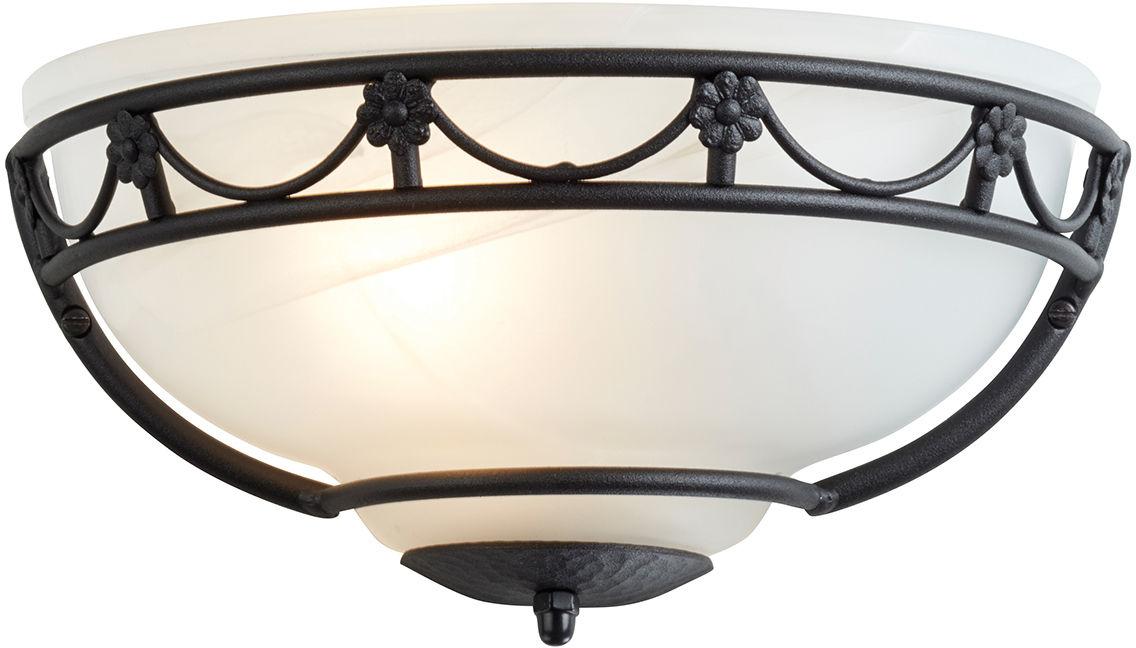 Kinkiet Carisbrooke CB/WU BLK Elstead Lighting czarno-biała oprawa w dekoracyjnym stylu
