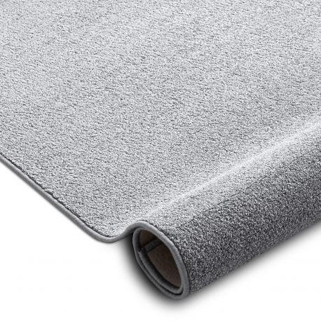 Wykładzina dywanowa SANTA FE srebrny 92 gładki, jednolity, jednokolorowy