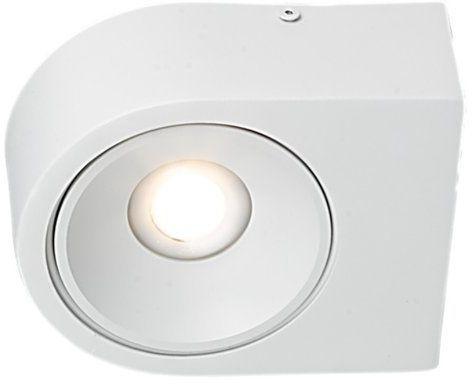 Biały kinkiet LUCE 1x 10W LED