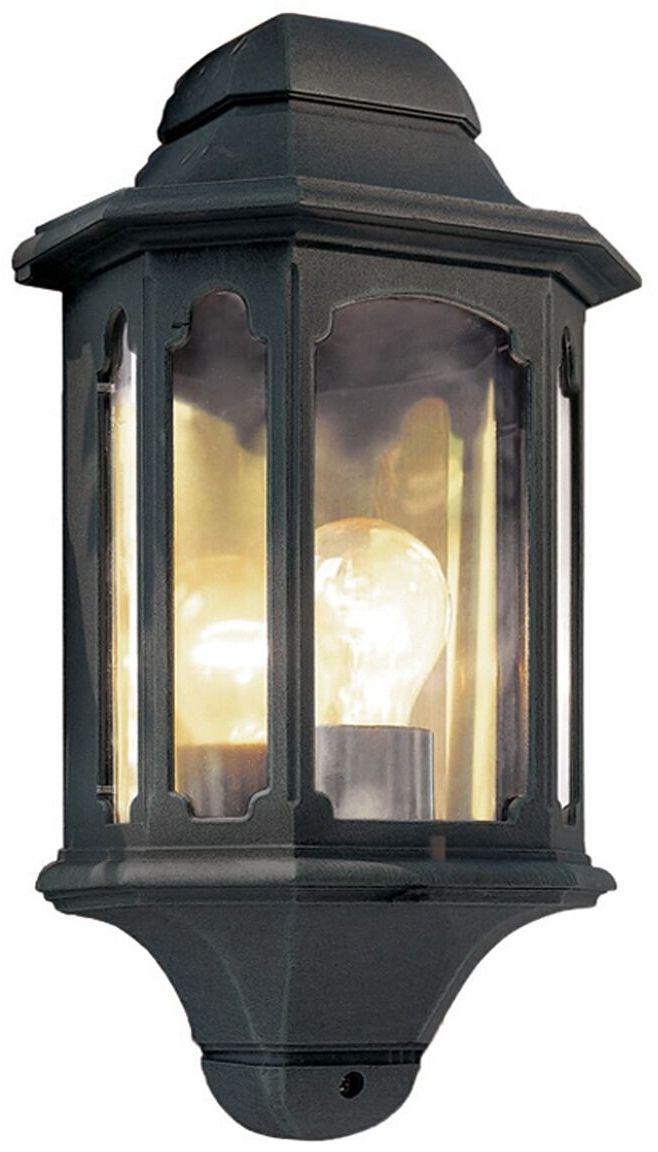 Kinkiet zewnętrzny Chapel CP7 Elstead Lighting klasyczna oprawa w kolorze czarnym