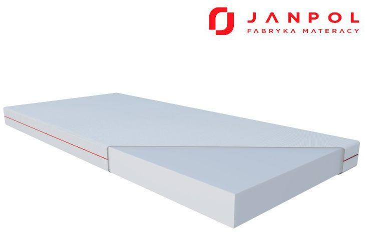 JANPOL HERMES  materac piankowy, Rozmiar - 200x200, Pokrowiec - Smart NAJLEPSZA CENA, DARMOWA DOSTAWA
