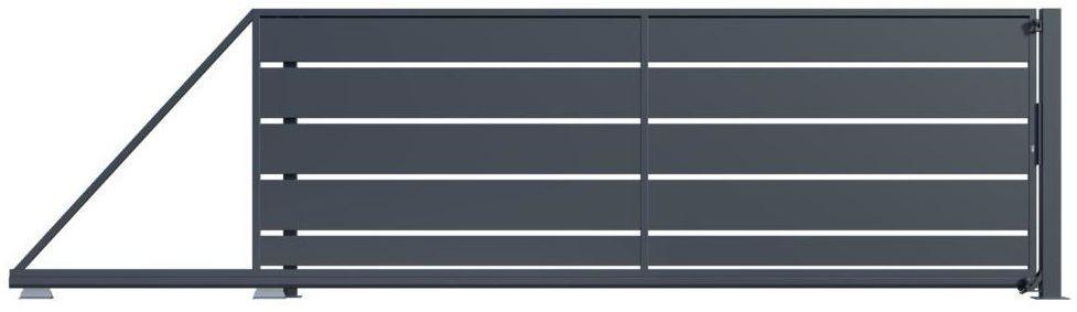Brama przesuwna OPAL 400 x 149.5 cm lewa POLARGOS