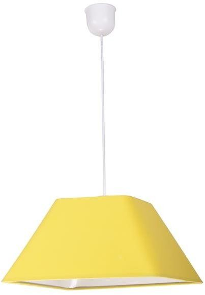 ROBIN LAMPA WISZĄCA 35 1X60W E27 ŻÓŁTY PROMO (ABAŻUR 77-01771+LINKA 85-89369)