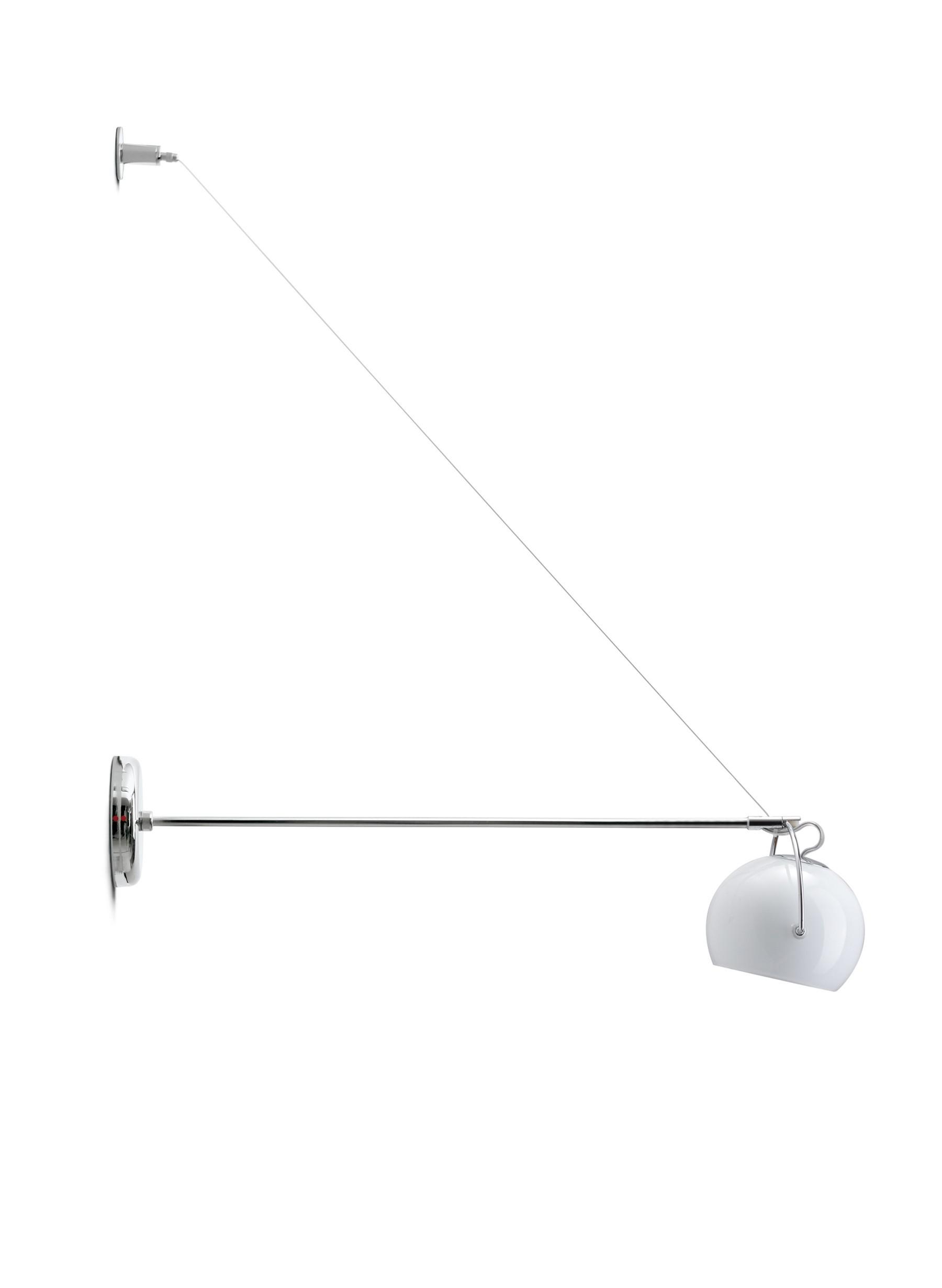 Beluga White D57 D07 01 - Fabbian - kinkiet