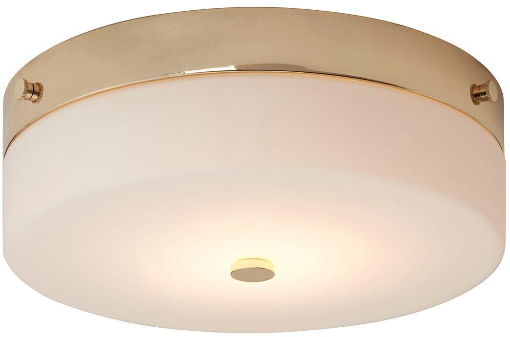 Plafon Tamar L PG Elstead Lighting nowoczesna oprawa w kolorze polerowanego złota