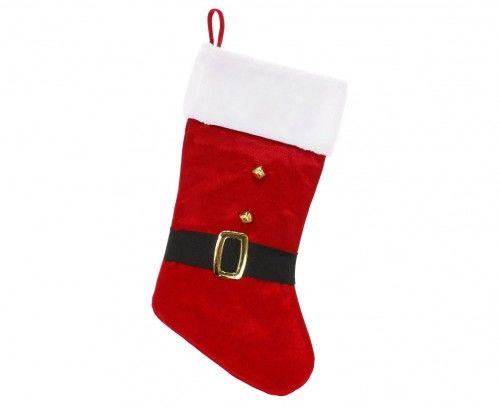 Skarpeta Świąteczna z dzwoneczkami