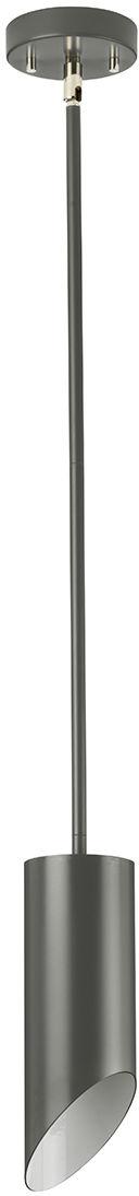 Lampa wisząca Quinto 1P GPN Elstead Lighting nowoczesna oprawa w kolorze szarym