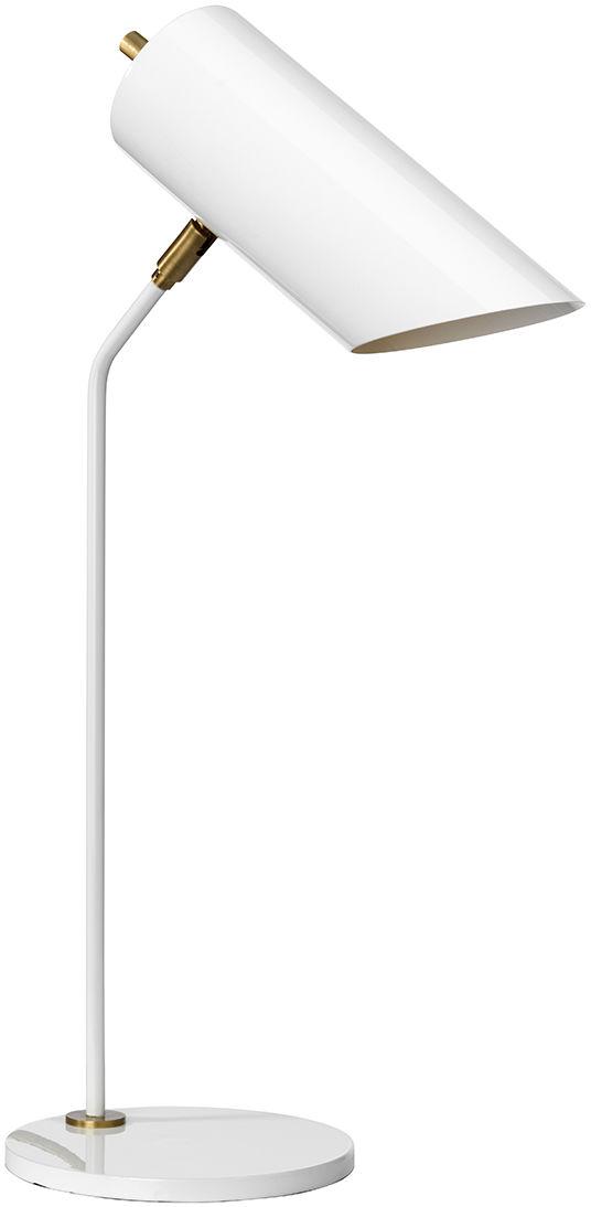 Lampa stołowa Quinto TL WAB Elstead Lighting nowoczesna oprawa w kolorze białym