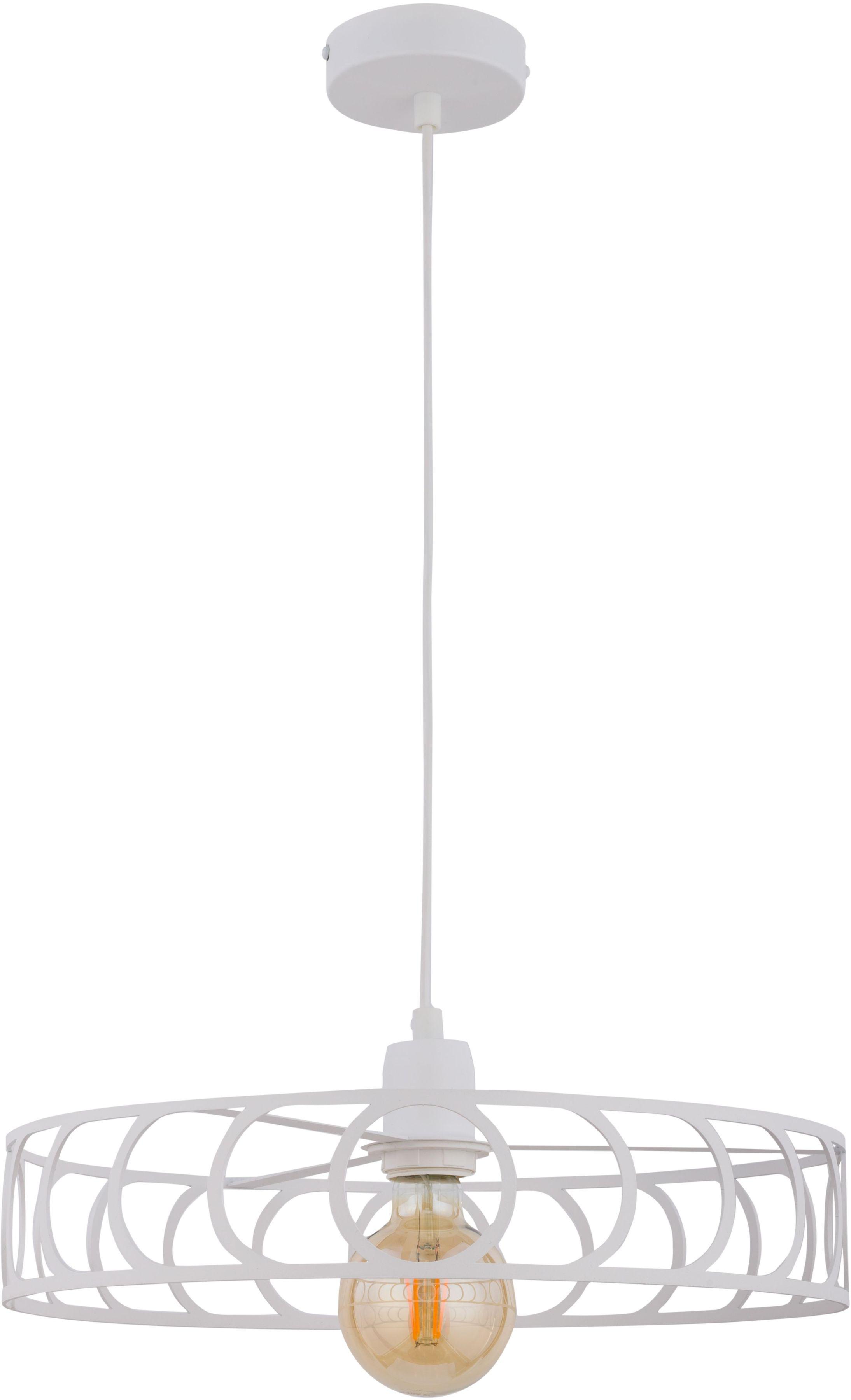 Lampa wisząca Moon biała metalowa okrągła 32043 - Sigma Do -17% rabatu w koszyku i darmowa dostawa od 299zł !