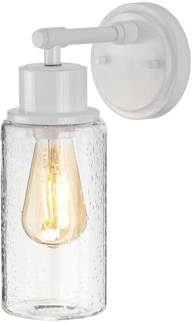 Kinkiet łazienkowy Morvah W Elstead Lighting nowoczesna oprawa w kolorze białym