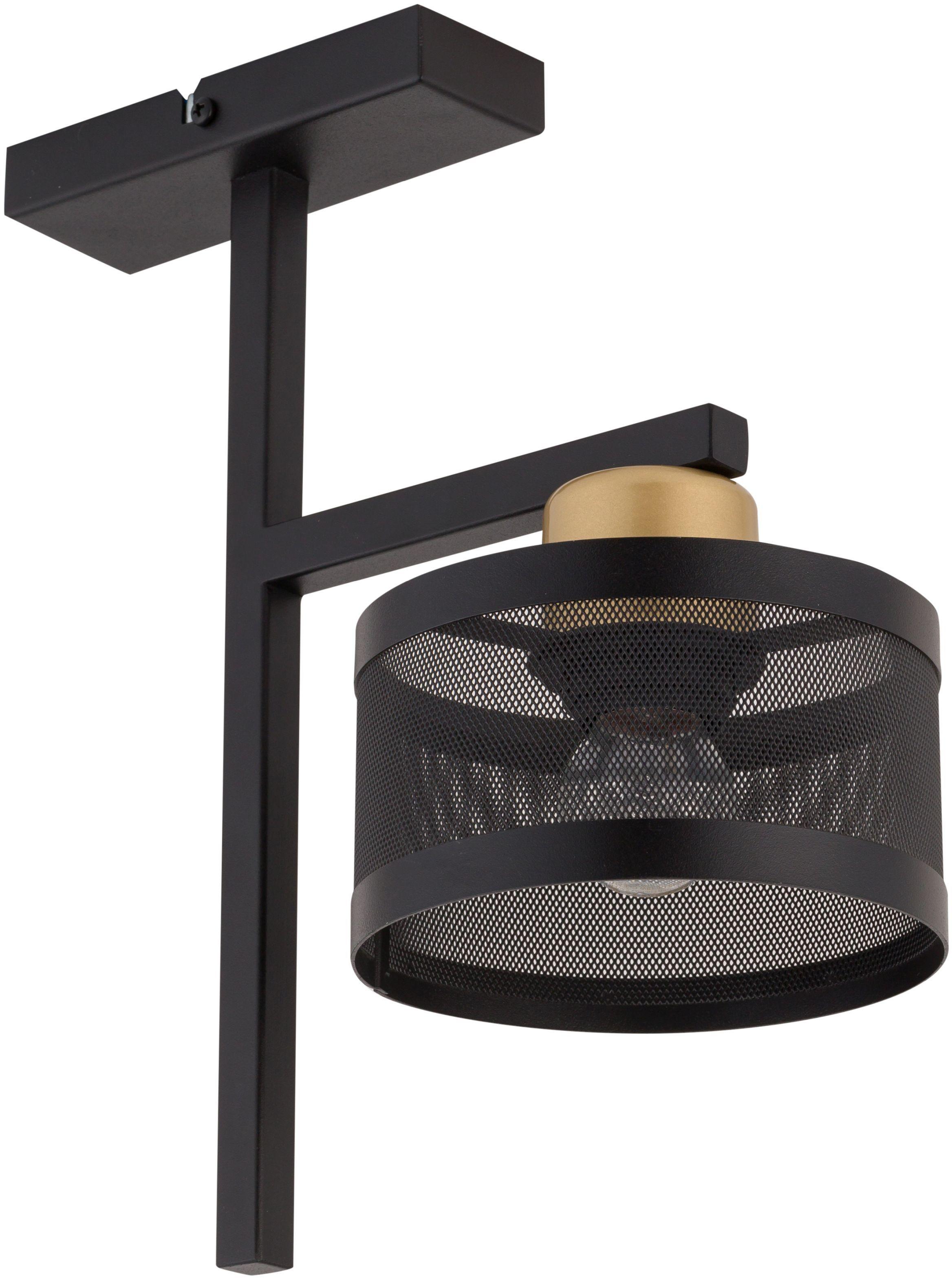 Lampa sufitowa czarno złota Off 1 punktowa metalowa 32141 - Sigma Do -17% rabatu w koszyku i darmowa dostawa od 299zł !
