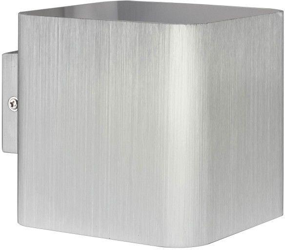 Kinkiet Polux Izar G9 srebrny szczotkowany