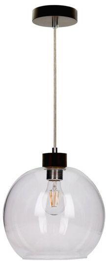 SPOTLIGHT lampa wiszaca SVEA ze szklanym kloszem z drewna bukowego 13560176